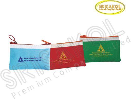 กระเป๋าสตางค์เล็ก คละสี  รหัส A2005-15B