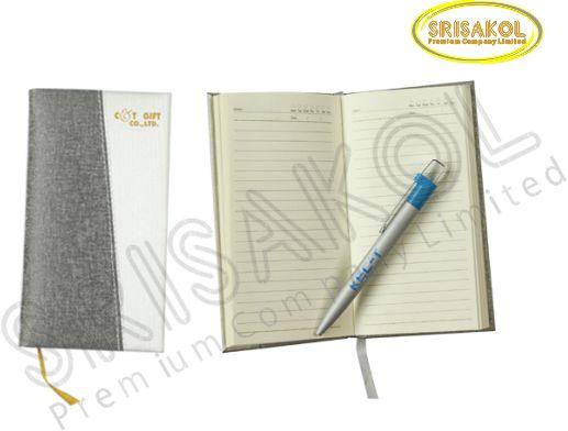 สมุด Note A8 (ปก PU บุฟองน้ำ) รหัส A1918-21D