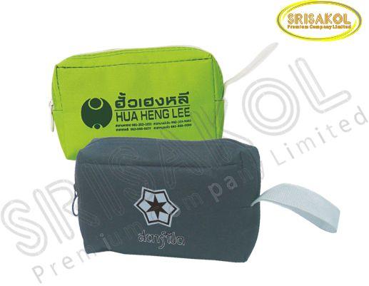 กระเป๋าใส่ของจุกจิก มีซิป  รหัส A2023-7B