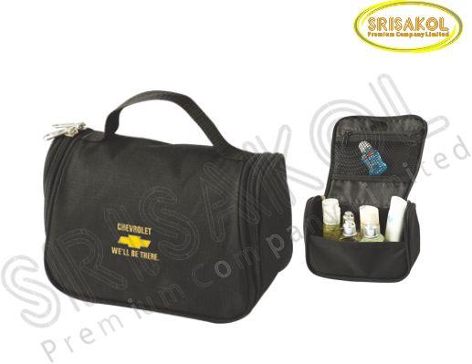 กระเป๋าใส่อุปกรณ์เดินทาง สีดำ รหัส A2015-9B