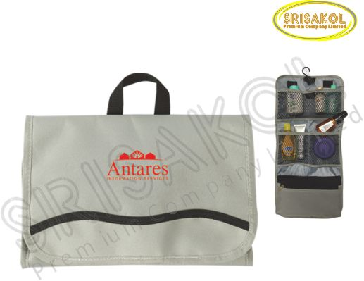 กระเป๋าใส่อุปกรณ์เดินทาง สีเทา รหัส A2006-1B