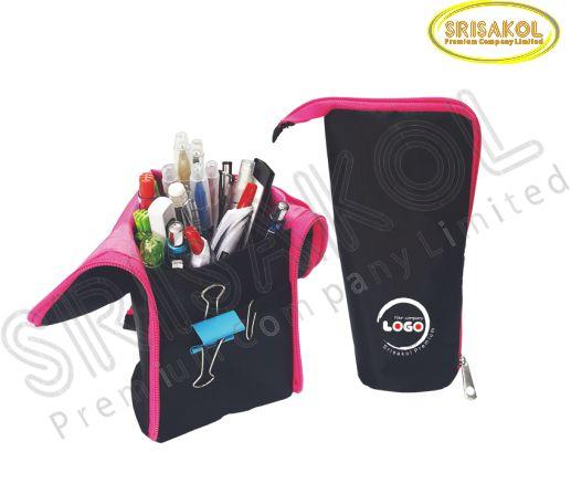 กระเป๋าใส่ดินสอ สีดำ   รหัส A2023-9B