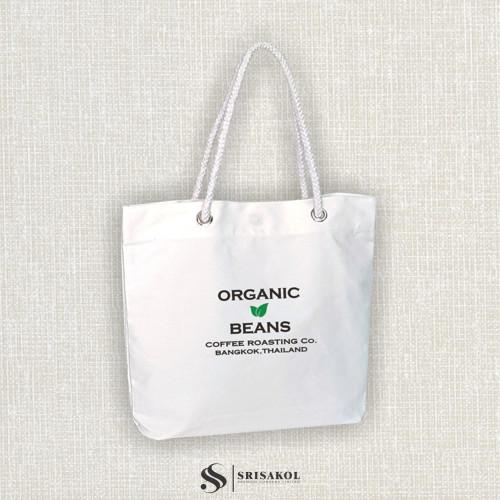 กระเป๋าช้อปปิ้งผ้าดิบดิจิตอล  รหัส A2203-4B