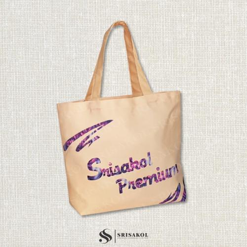 กระเป๋าช้อปปิ้งผ้าดิบดิจิตอล  รหัส A2132-3B
