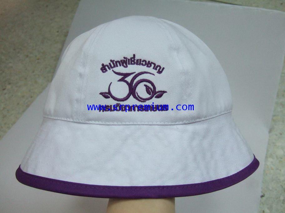 หมวกปีกรอบ ผ้าพรีส 01-0132 (114P7)