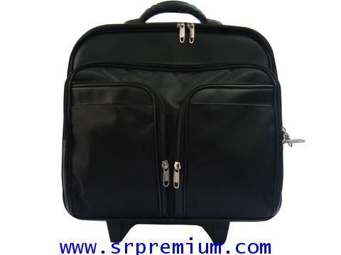 กระเป๋าเอกสารแบบ มีโครง คันชักล้อลาก รุ่น 4943