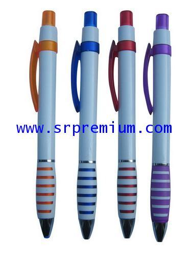ปากกาลูกลื่นพลาสติก รุ่น MM-22