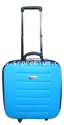 กระเป๋าเดินทางโครงล้อลากหน้าโฟม รุ่น 7707 ขนาด 14 นิ้ว