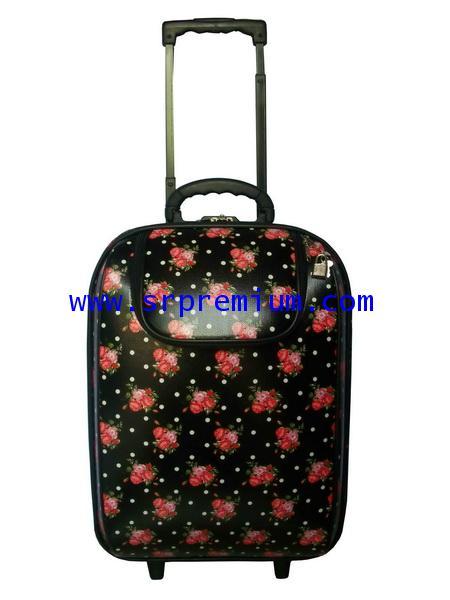 กระเป๋าเดินทางโครงล้อลาก หน้าโฟม (61AKB5) คันชัก 2 ตอน