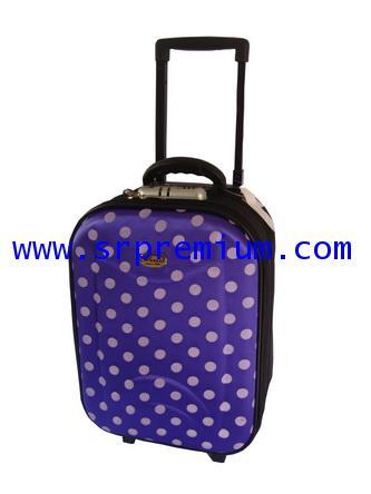 กระเป๋าเดินทางโครงล้อลาก  หน้าโฟม รห้ส7706 ขนาด 16 นิ้ว (567N8)