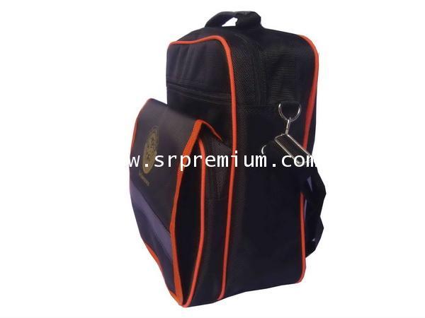 กระเป๋าเอกสารสะพายทรงตั้ง 07-990 (228N7)
