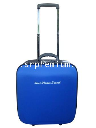 กระเป๋าเดินทางล้อลาก หน้าโฟม รุ่น 7801 ขนาด 16 นิ้ว