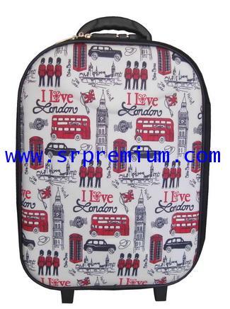 กระเป๋าเดินทางโครงล้อลาก  หน้าโฟม รุ่น 7813 (668K7)
