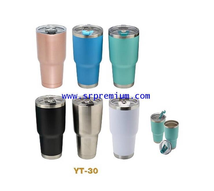 แก้วเก็บร้อนเย็นแบบสีด้าน รุ่น YT-30 (30 ออนซ์)