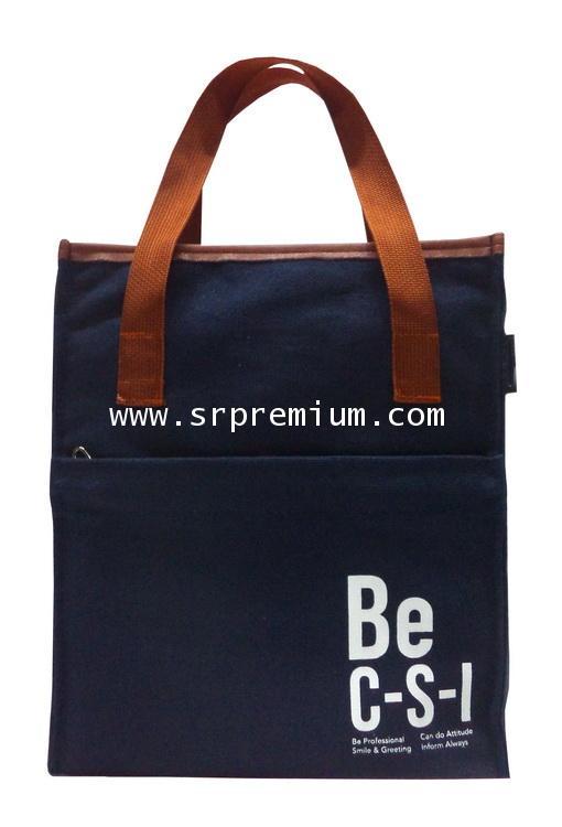 กระเป๋าผ้าช้อปปิ้งแคนวาส Canvas รุ่น 06-2021 (222K8)