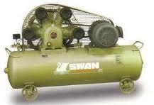 ปั๊มลมสวอน รุ่น SWP-415/400L (15 แรงม้า, 400 ลิตร)