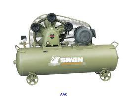 ปั๊มลมสวอน รุ่น SWP-307/240L (7.5 แรงม้า, 240 ลิตร)