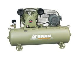 ปั๊มลมสวอน รุ่น SVP-203/240L/380V (3 แรงม้า, 240 ลิตร, 380 โวลท์)