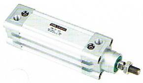 กระบอกลมแบบท่อโปรไฟล์ [ DNC Series/ ISO6431]