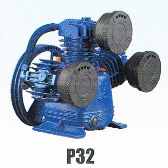 หัวปั๊มลมพูม่า 2 แรงม้า รุ่น P-32