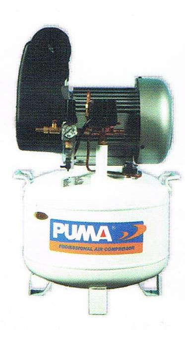 ปั๊มลมพูม่าแบบไม่ใช้น้ำมัน PUMA Oil Free Compressor รุ่น DL-2030/2HP/30L