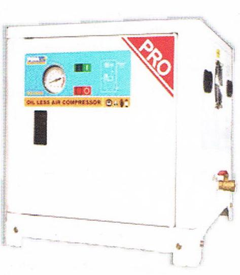 ปั๊มลมพูม่าแบบไม่ใช้น้ำมัน (เก็บเสียง) PUMA Oil Free Compressor รุ่น DS-2008/2HP/8L