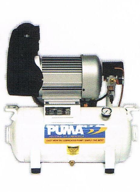 ปั๊มลมพูม่าแบบไม่ใช้น้ำมัน PUMA Oil Free Compressor รุ่น PT-2520/1.5HP/20L