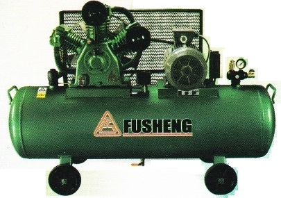 ปั๊มลมฟูเช็งแรงดันสูง รุ่น HTA-80/304L (5 แรงม้า, 304 ลิตร)