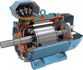 มอเตอร์ ABB 1 แรงม้า รุ่น M2QA80M2A[3,000 rpm ] 1