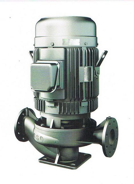 ปั๊มน้ำ GSD รุ่น LPS Seriese ( Pipe Centrifugal Pump )