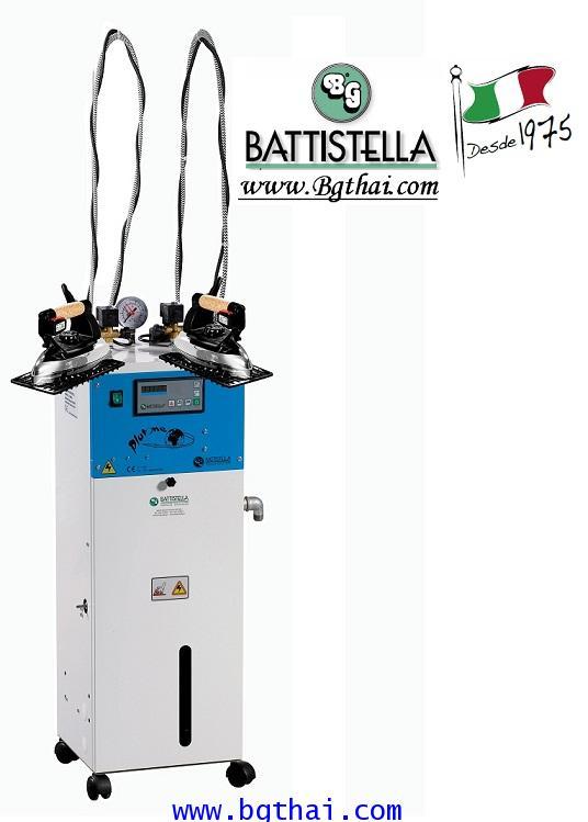 เตารีดไอน้ำBG( BATTISTELLA) 5 L.หม้อต้มไอน้ำ 2 หัวเตา รุ่น PLUTONE / PUMP