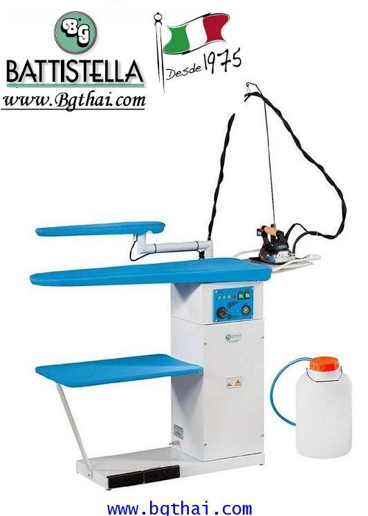 โต๊ะรีดผ้าลมดูดพร้อมหม้อต้มไอน้ำBG รุ่น ARGO SOFFIANTE 2011