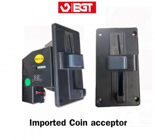 Imported coin acceptor สล็อดหยอดเหริยญเครื่องซักผ้าอุตสาหกรรม