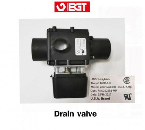 Drain valve for washer เดนวาล์วเครื่องซักผ้าอุตสาหกรรม