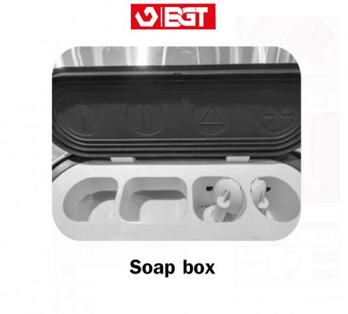 Soap box ช่องใส่ผงซักฟอกเครื่องซักผ้าอุสาหกรรม