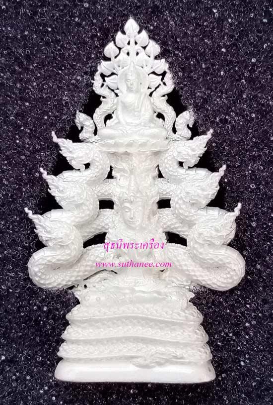 พระกริ่ง จินต์ตระการเนื้อ Natural White Silver (เงิน) [หมายเลข ๒๕ (25)] {ราคา..ลดกระหน่ำ !}