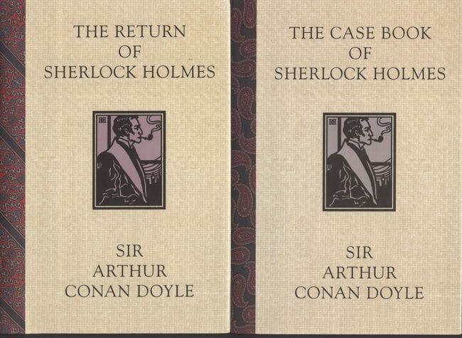 set of Sir Arthur Conan Doyle/Sherlock Holmes mysteries รวมชุด เชอร์ล็อค โฮล์ม 9 เล่มชุด