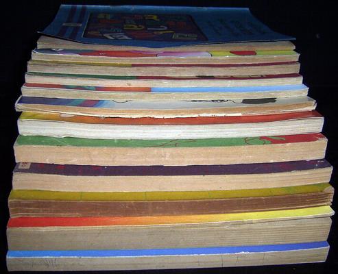 หนังสือเรียนภาษาไทยชั้นประถมศึกษาปีที่1-6 มานี มานะ (12เล่มครบชุด มีปกหายากหลายเล่ม) 2
