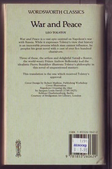 War and Peace (Vol. I,II,III)-รอชำระเงิน order27105303- 1