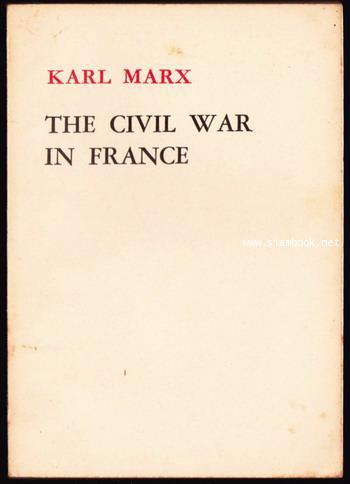 The Civil War in France *พิมพ์ในปักกิ่ง*
