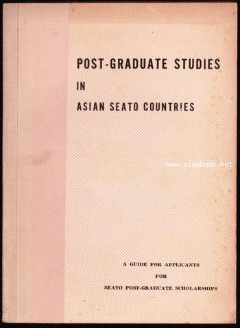POST-GRADUATE STUDIES IN ASIAN SEATO COUNTRIES