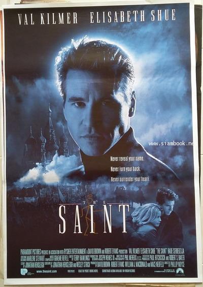 โปสเตอร์หนัง เรื่อง The Saint