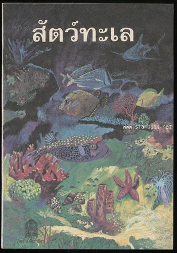 หนังสืออ่านเพิ่มเติมกลุ่มสร้างเสริมประสบการณ์ชีวิต เรื่อง สัตว์ทะเล