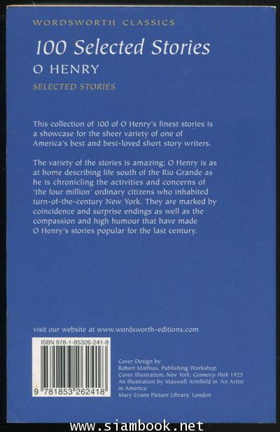 O Henry 100 Selected Stories 1