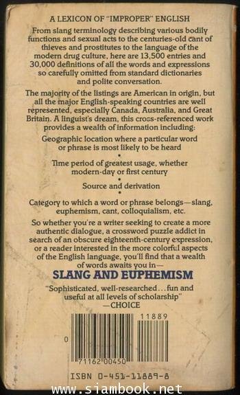 Slang and Euphemism 1