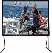 Vertex Easy Fold Screen 200 นิ้ว เนื้อ Front+Rear  4:3