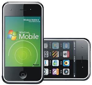 iPhone 3G wifi (windows mobile 6.1)