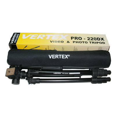 ขาตั้งกล้อง VERTEX รุ่น PRO 220DX
