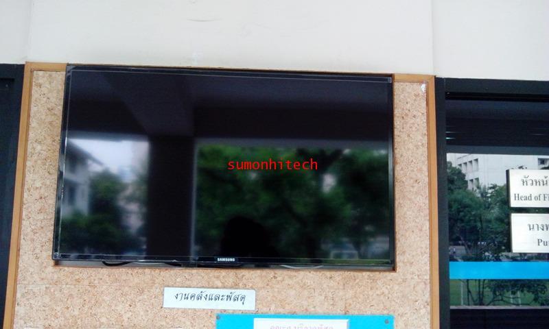 ชุดขาแขวน LCD, PLASMA ขนาด22-42 นิ้ว(แบบติดผนัง ปรับก้มได้) 3