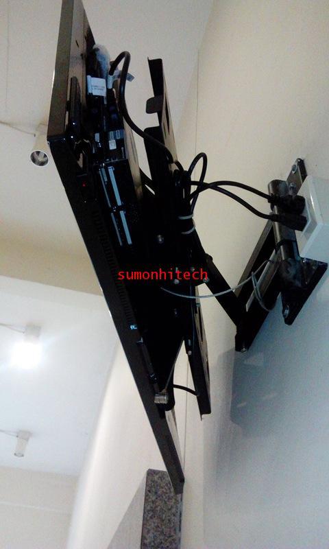 ขาแขวน LCD, PLASMA ขนาด 32-63 นิ้ว(แบบติดผนัง ปรับยืด-หดได้) 5